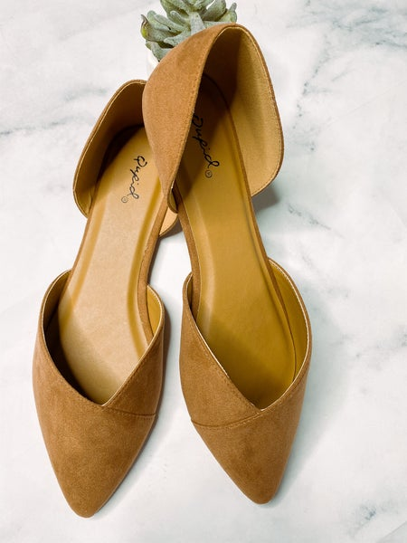 Zoom Slip on Shoes- Cinnamon