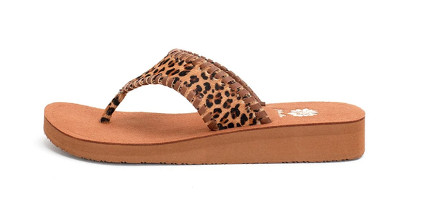 Jocelyn Animal Print Thong Sandals *Final Sale*