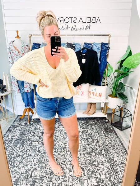 State of Style Judy Blue Cuffed Hem Shorts (Plus + Reg)