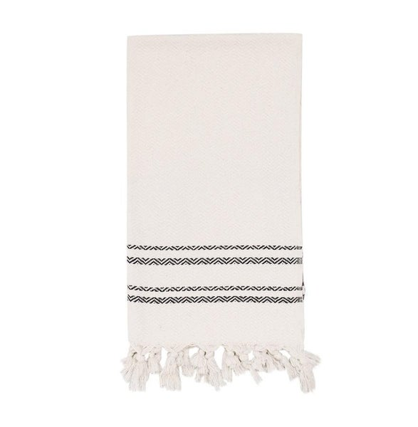Haley Turkish Hand Towel - Two Stripe