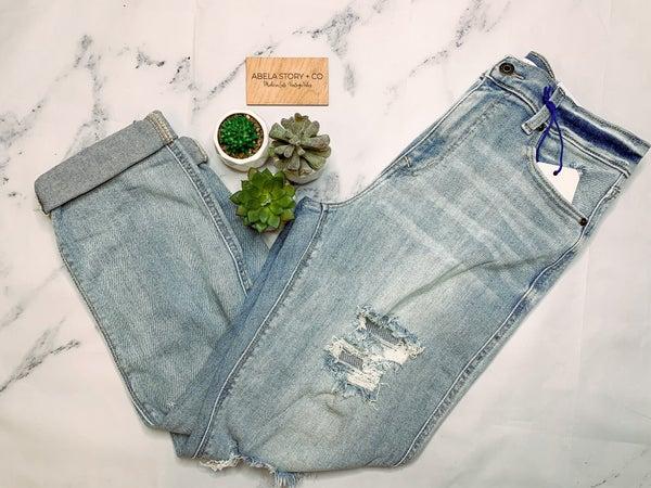 It's Complicated Destroyed Boyfriend Jeans *Final Sale*