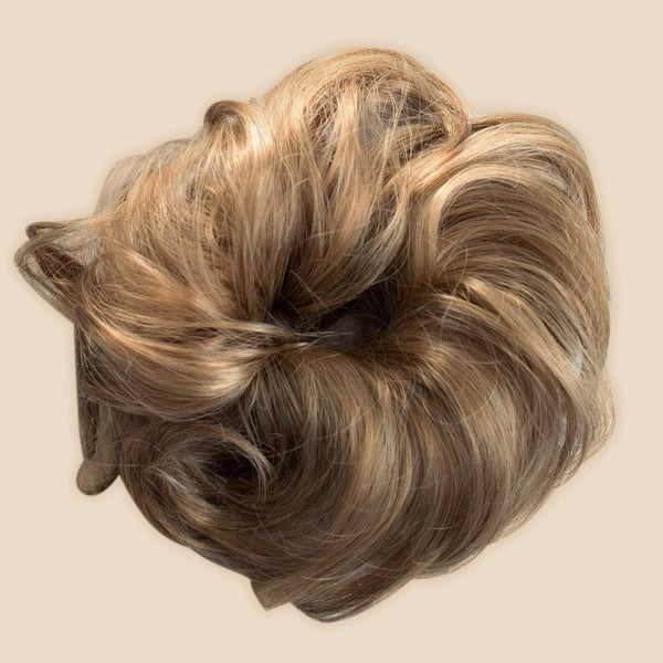 Top Knot Ponytail Holder Extension - Dirty Blonde