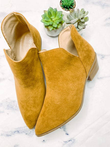 Your Heart's Desire Ankle Bootie