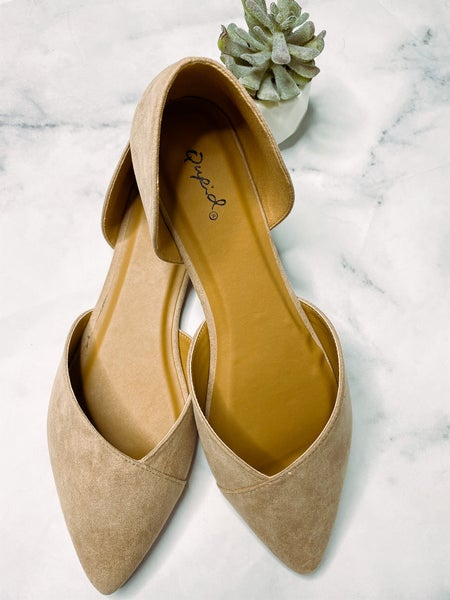 Zoom Slip on Shoes- Warm Taupe