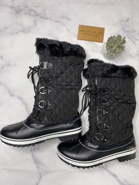Value Duck Boots- Black *Final Sale*
