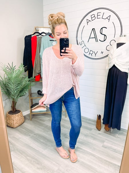 Pocket Full of Sunshine Abela High Rise Skinny Jeans - Medium Wash