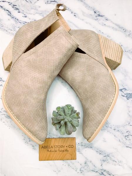 Jena Slitherskin Ankle Booties *Final Sale*