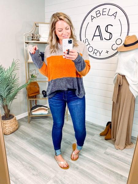 Overdrive High Rise Dark Wash Skinny Jeans *Final Sale*