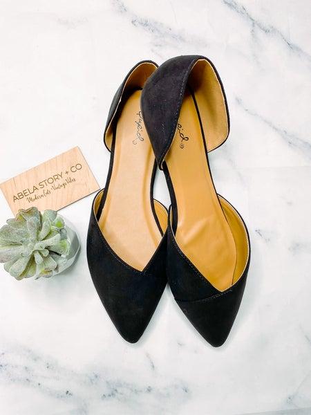 Zoom Slip on Shoes- Black