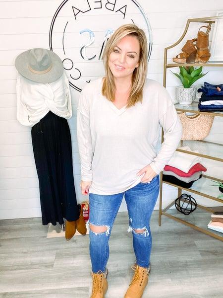 Keep Things Interesting Judy Blue Destroyed Skinny Jeans (Plus + Reg)