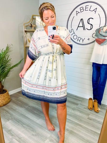 Blast from the Past Vintage Midi Dress *Final Sale*