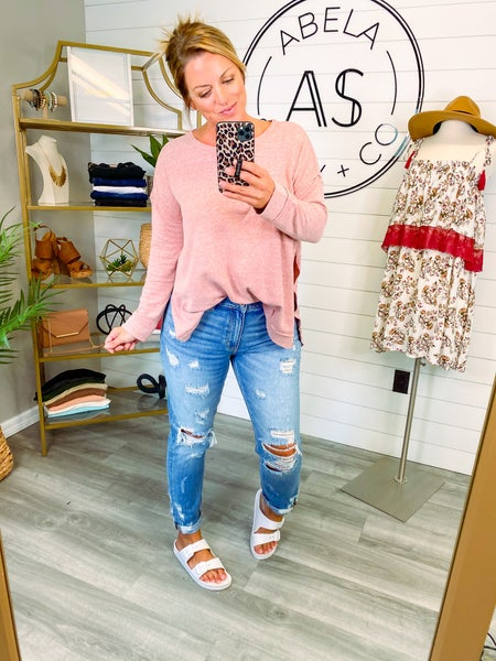 People to See High Rise Girlfriend Jeans *Final Sale*