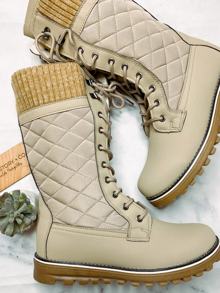 Polar Taupe Boots *Final Sale*