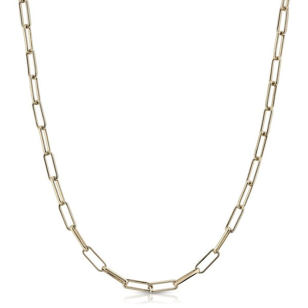 Elongated Link Chain Gold - Pre-Sale