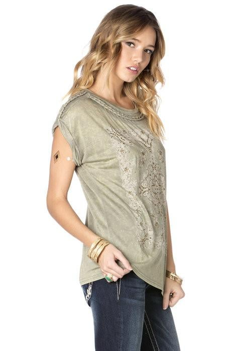 Miss Me Studs Galore Top