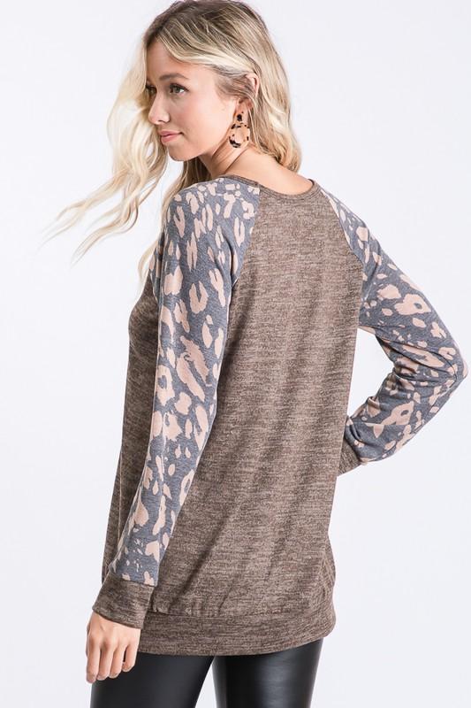 Fall Mocha Sweater