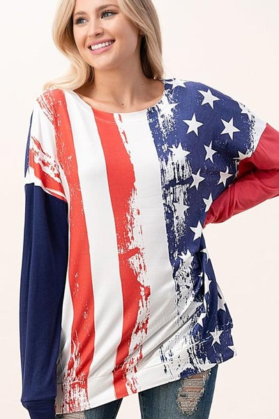 Americana Summer Nights Top