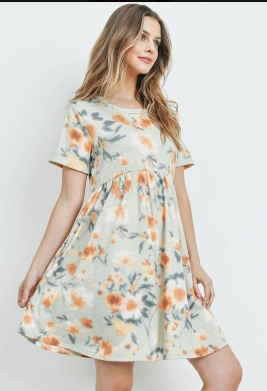 Mango Sunrise Dress