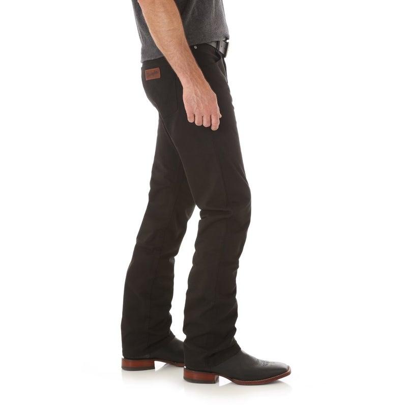 Black Retro Slim Straight
