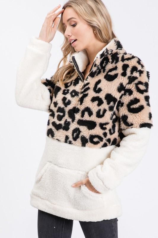 Leopard Sherpa