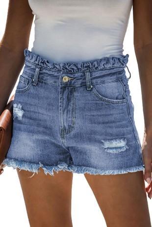 Ruffle Top Shorts