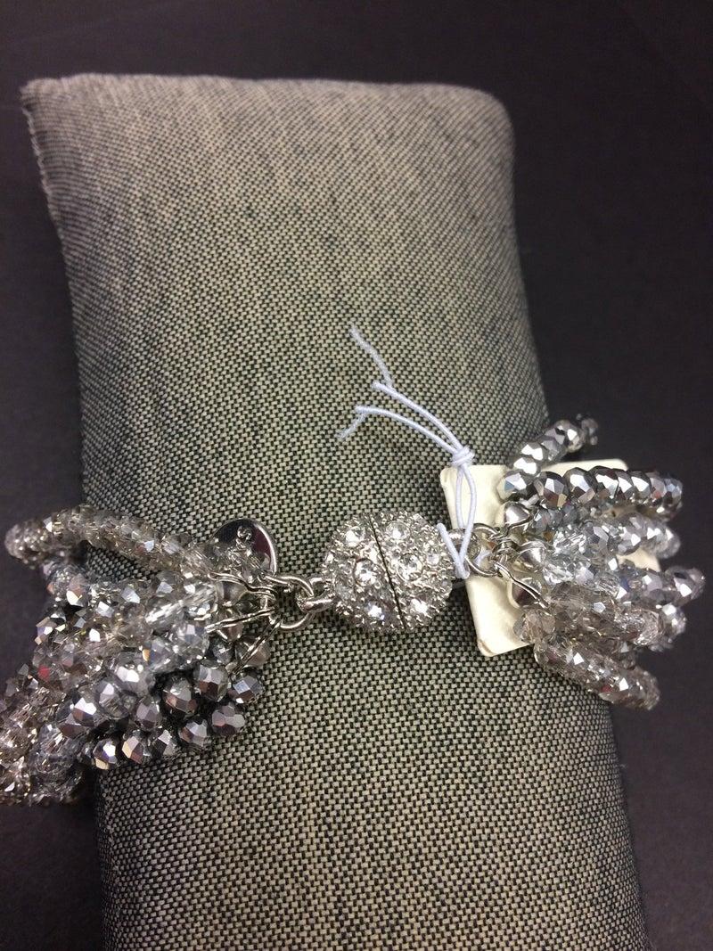 Crystal Multi Strand Bracelet