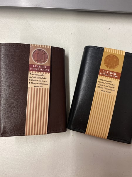 Leather Trifold