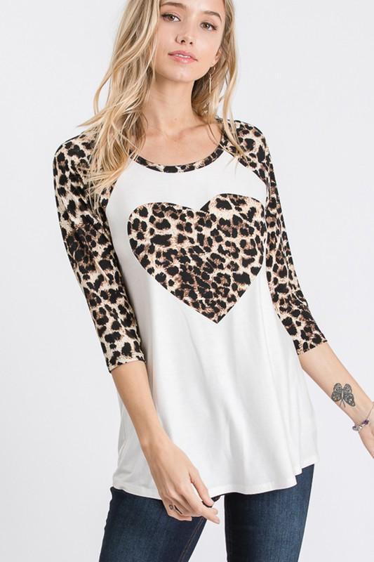 Leopard Love Top