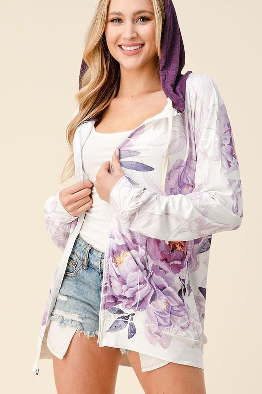 Purple Haze Zip Up