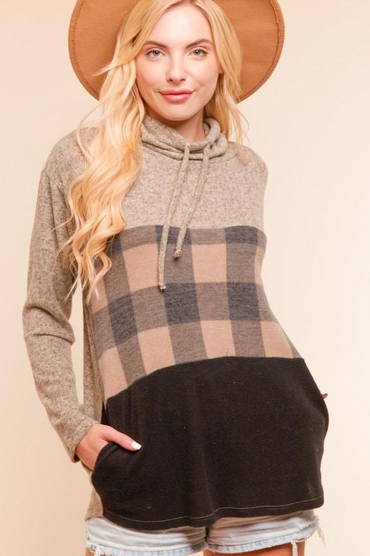 Mocha Surprise Sweater