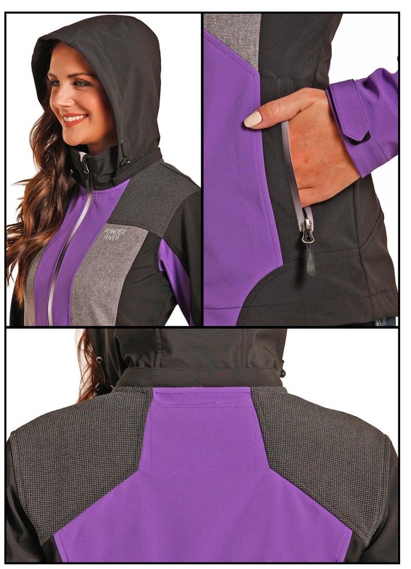 Purple Softshell Jacket