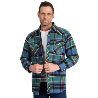 Quilted Flannel Jacket