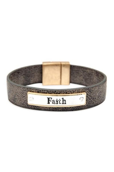 Faith Faux Leather