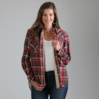 Sherpa Flannel Jacket