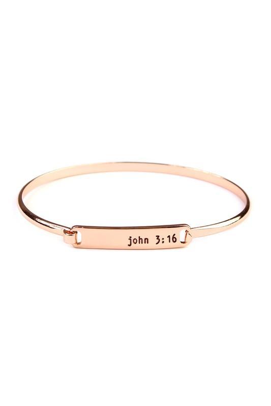 John 3:16 Bracelet