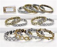 Metal Glass Bracelets