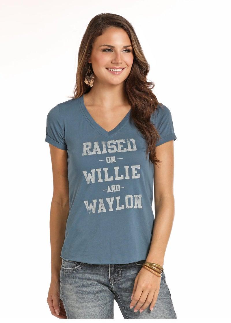 Willie & Waylon Tee