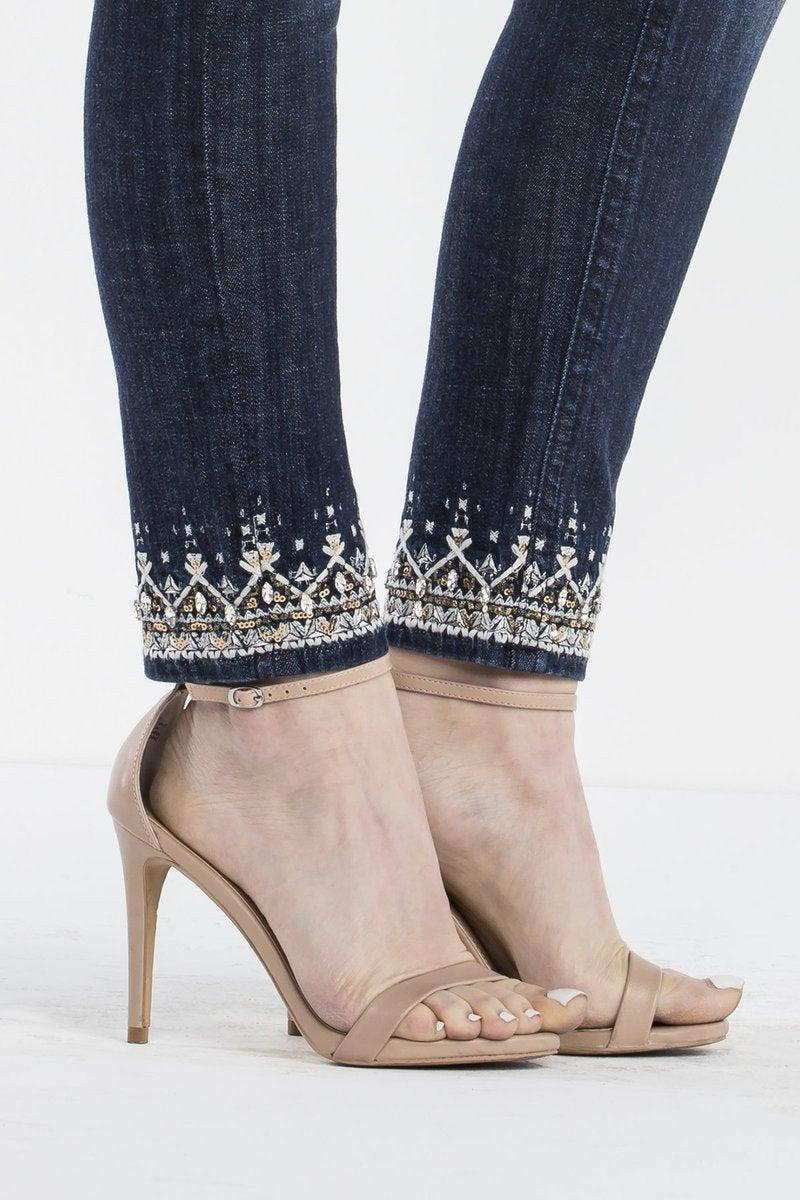 Miss Me Regal Realness Ankle Skinny