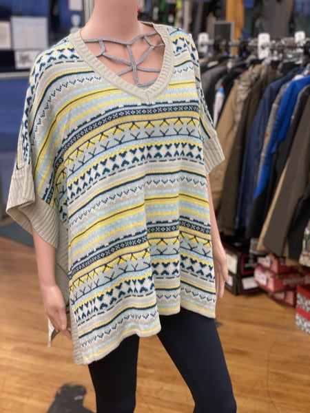 Blue Yellow Sweater