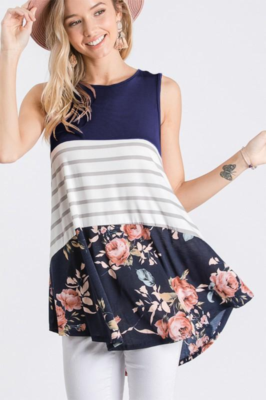 Floral is Everything Tank