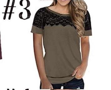 Lace Accent Tee