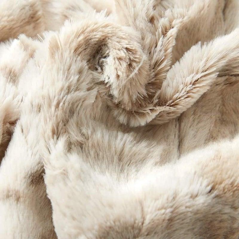 Snow Leopard Blanket
