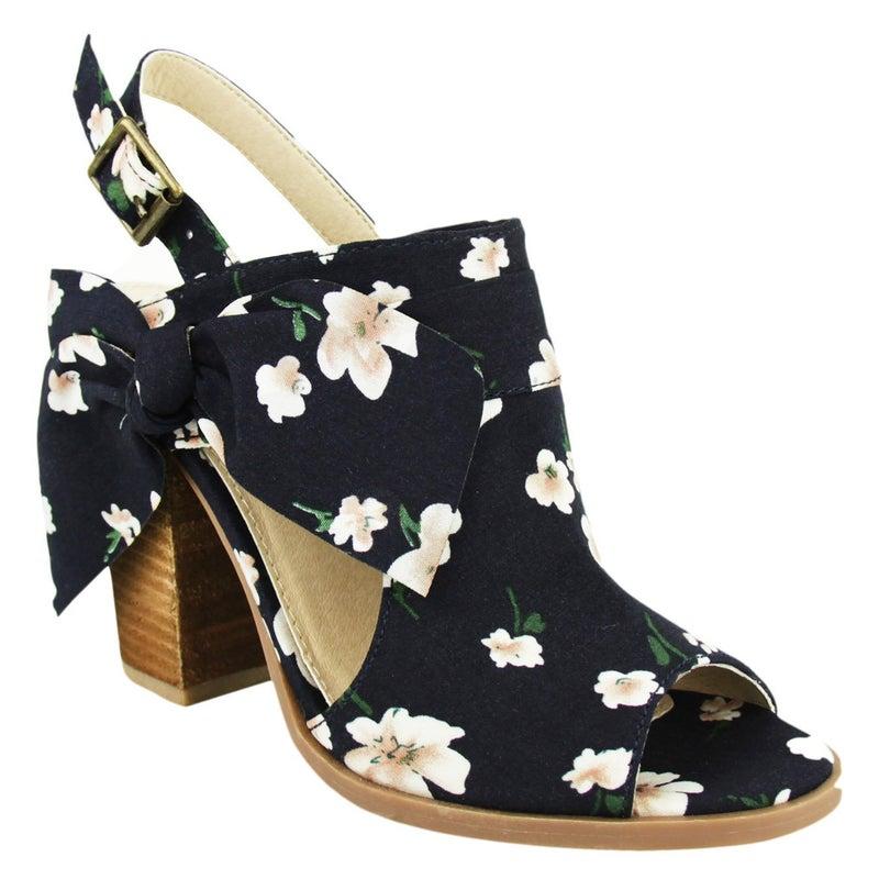Haida Floral Heels