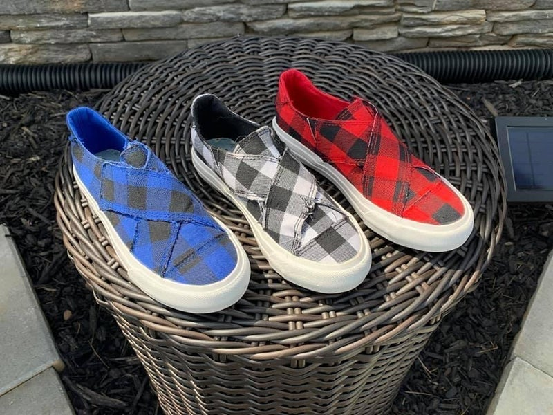 Plaid Along Shoes