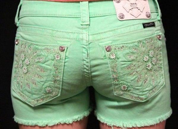 Neon Daisy Shorts