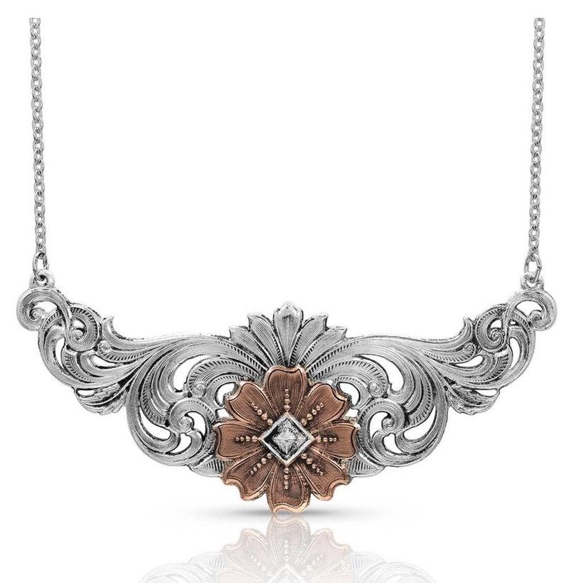 Wildflower Kaleidoscope Necklace
