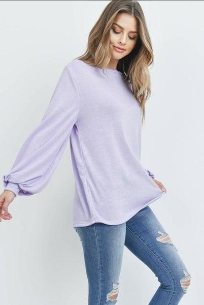 Lavender Summer Top