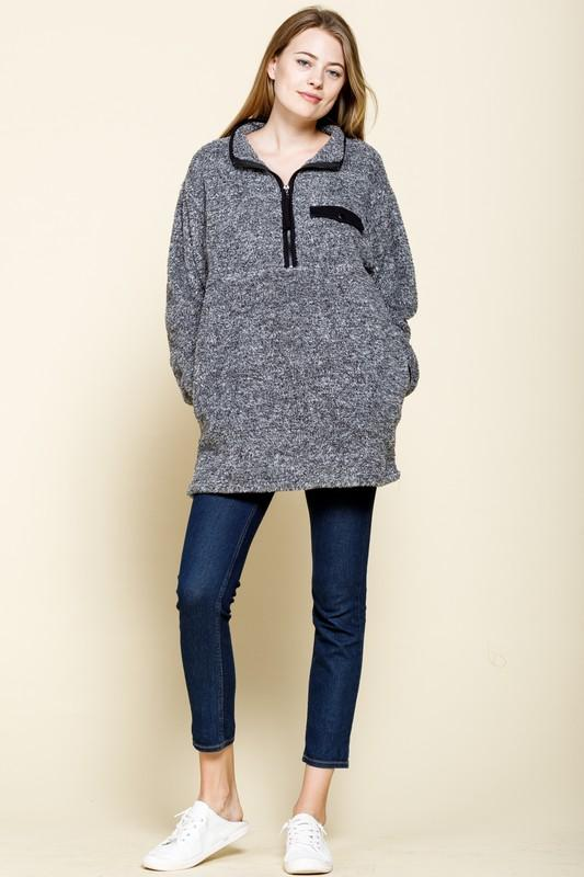 Two Tone Pullover
