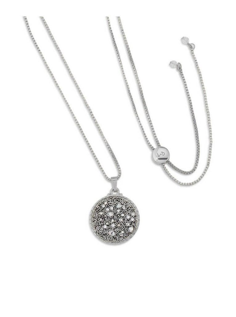 Kelsey Pave Slider Necklace