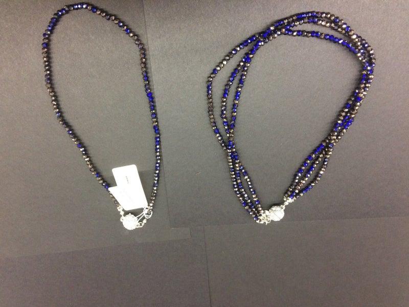 Crystal Multi Strand Necklace